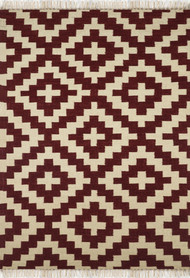 Imperial Knots Multicolor Turkish Handwoven Kilim Carpet and Rug By Imperial Knots