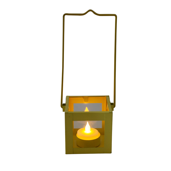 ELAN ORTHODOX VOTIVE-YELLOW GLOSSY115C T-Light and Votive Holder By living-with-elan