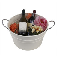 ELAN FERRUM PARTY BUCKET-IVORY Decorative Container By living-with-elan