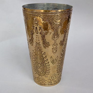 Nafees Lassi Glass Boota Brass Serveware By AKFD