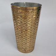 Nafees lassi glass jaal brass
