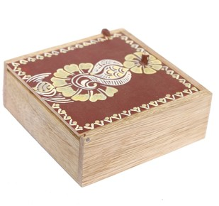 Chowk art jewelery box Decorative Box By i-value-every-idea