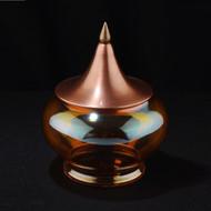 Orange spire jewel jar %28m%29
