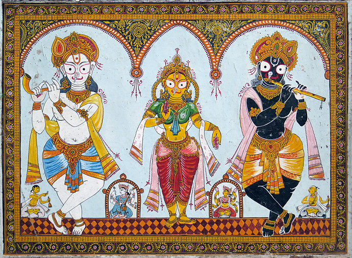 Odisha Patachitra By Unknown Artist