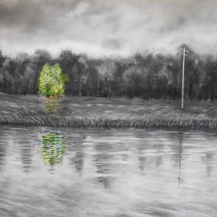 Reflections Digital Print by Kajal Nalwa,Impressionism