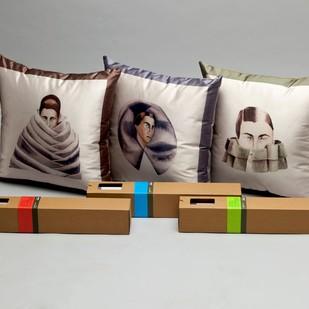 Anju Dodiya Cushion (Set of 3) Cushion Cover By Vadehra Bookstore