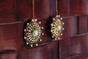 Born for 'Bold & Enamel' Earring By Tanvi Garg