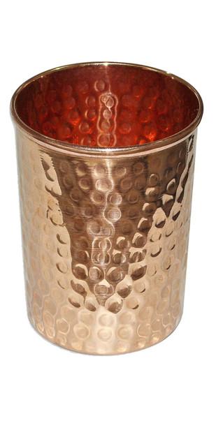 Copper Cooler Tumbler Glass Accessories By IMLI STREET