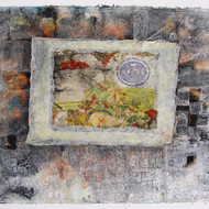 Vinay sharma   mixed media on hand made paper  43x32 inches  2009 mcp3464