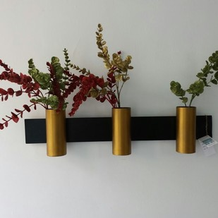 Designmint Sleek Cylinder Garden Decor By Designmint