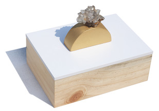White ring box Decorative Box By Tessera