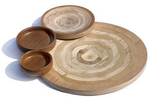 Stemma thali Platter and Plate By Tessera