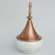 Spire Collection Jar S (White) Serveware By AnanTaya