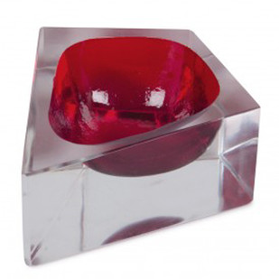 Chakmak Glass Blob Red Serveware By AnanTaya
