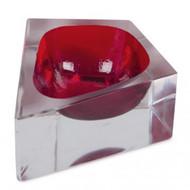 Glass chakmak glass red