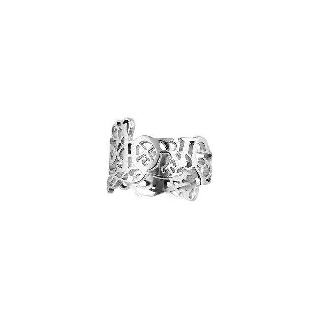 Love & Respect Ring - Small by Eina Ahluwalia, Contemporary Ring