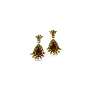 Ethnic Vintage Earrings by Symetree, Traditional Earring
