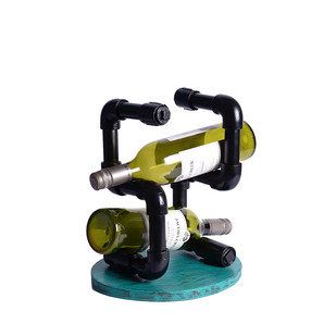Industrial Wine Holder Table Ware By Desi Jugaad