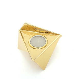 Origami Tealight -Brass T-Light and Votive Holder By Studio Saswata