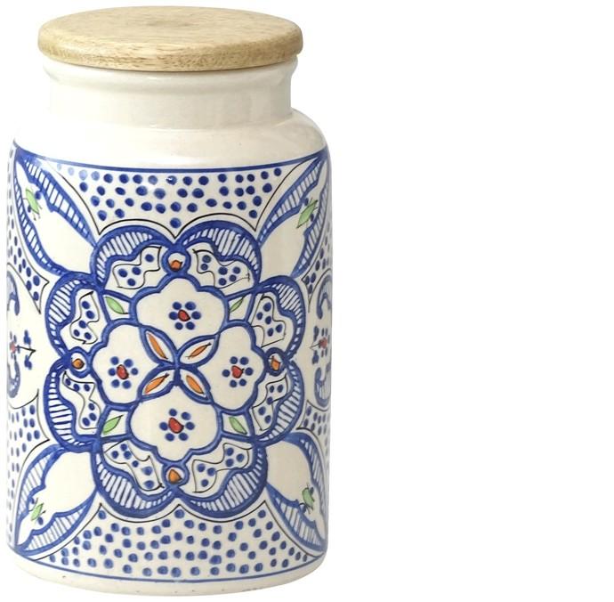 SAARA JAR WITH AIRTIGHT LID Kitchen Ware By Ikka Dukka Studio Pvt Ltd