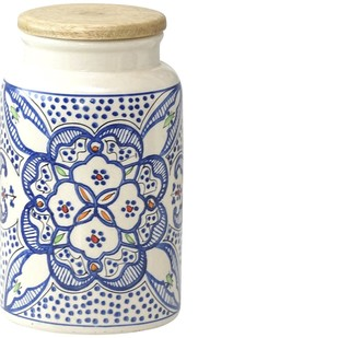 SAARA JAR WITH AIRTIGHT LID by Ikka Dukka Studio Pvt Ltd, Contemporary Kitchen Ware