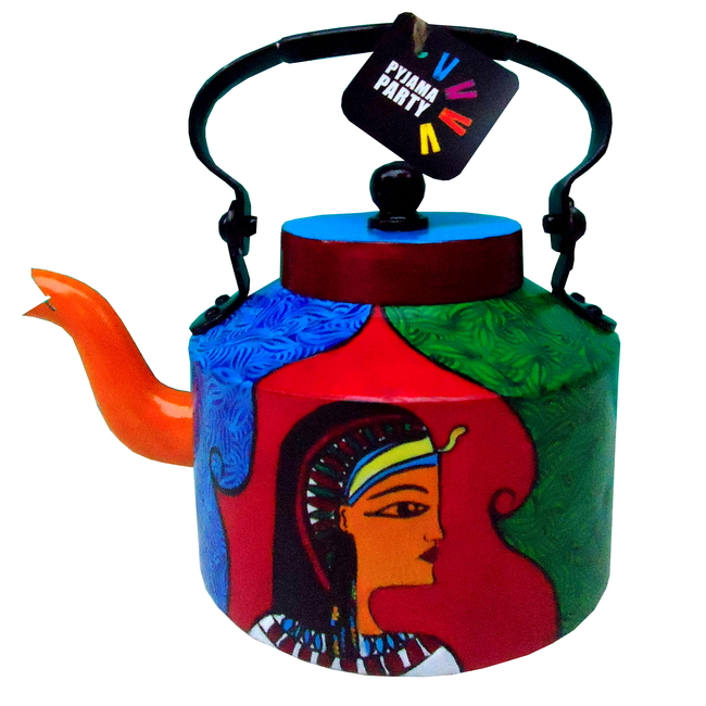 Limited Edition kettle- Cleopatra Serveware By Pyjama Party Studio