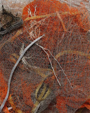 Yogmaya (Trigonometry) by Shridhar Iyer, Abstract Sculpture | 3D, Mixed Media, Brown color