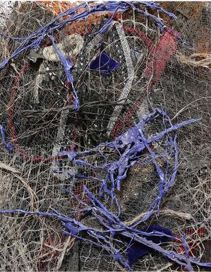 Yogmaya (Trigonometry) by Shridhar Iyer, Abstract Sculpture | 3D, Mixed Media, Gray color