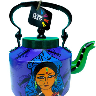 Limited Edition kettle- Dash of Desi Serveware By Pyjama Party Studio