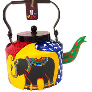 Limited Edition kettle- Elephant Tales Serveware By Pyjama Party Studio