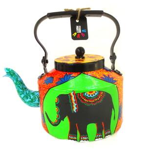 Limited Edition kettle- Elephant Tales1 Serveware By Pyjama Party Studio