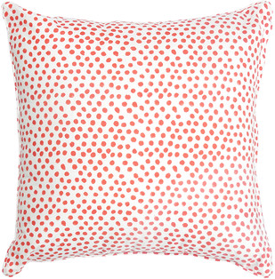 IKKA DUKKA HAND BLOCKED RED CUSHION COVER Cushion Cover By Ikka Dukka Studio Pvt Ltd