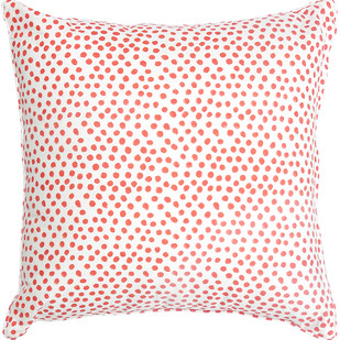 IKKA DUKKA HAND BLOCKED RED CUSHION COVER by Ikka Dukka Studio Pvt Ltd, Contemporary Cushion Cover