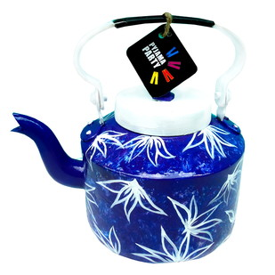 Limited Edition kettle- Indigo Hues Serveware By Pyjama Party Studio