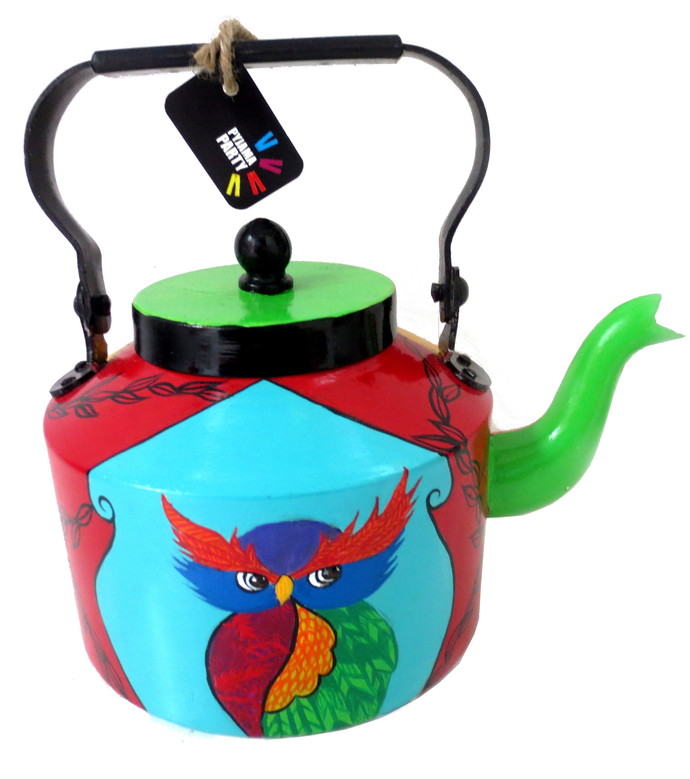 Limited Edition kettle- It's a Hoot! Serveware By Pyjama Party Studio