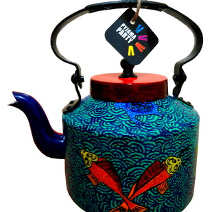 Limited Edition kettle- Japanese Koi fish Serveware By Pyjama Party Studio