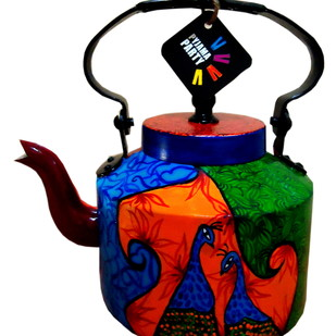 Limited Edition kettle- Mystic Garden Serveware By Pyjama Party Studio