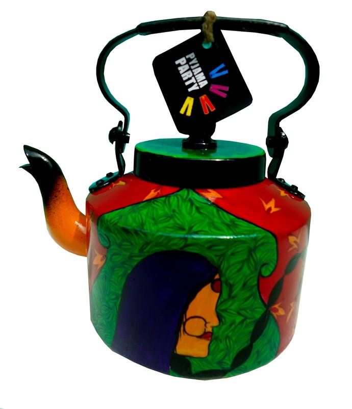 Limited Edition kettle- Nameste ji Serveware By Pyjama Party Studio