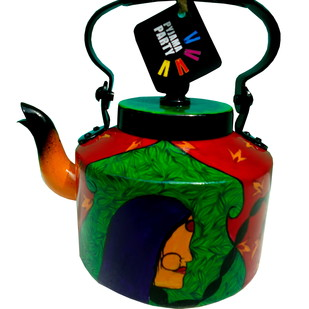 Limited Edition kettle- Nameste ji Serveware By Pyjama Party Studio