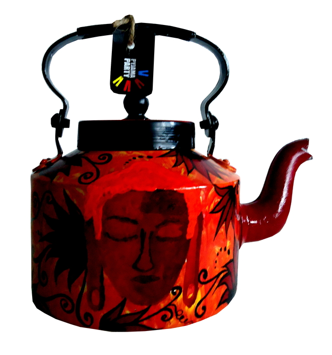 Limited Edition kettle- Shades oh Buddha - Flames Serveware By Pyjama Party Studio