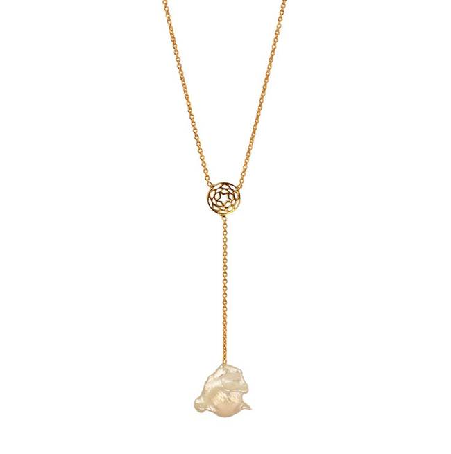 Path of Venus Lariat by Eina Ahluwalia, Contemporary Pendant