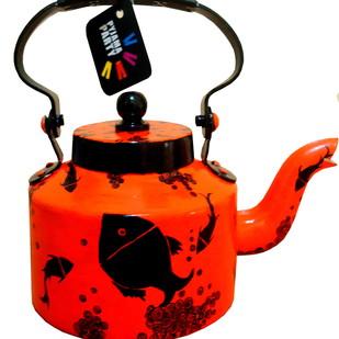 Limited Edition kettle- Something Fishy Serveware By Pyjama Party Studio
