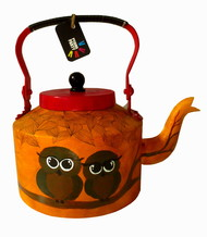 Limited Edition kettle- Owlies Serveware By Pyjama Party Studio