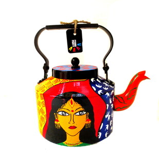 Limited Edition kettle- Tresses Serveware By Pyjama Party Studio