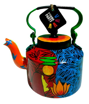 Limited Edition kettle- Voodoo love Serveware By Pyjama Party Studio