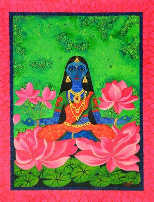 Mahalakshmi Print By Pragati Sharma Mohanty