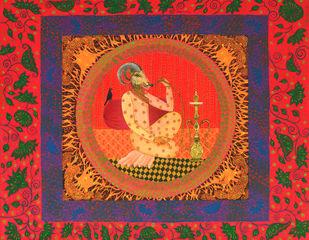 Nawabi Ram Digital Print by Pragati Sharma Mohanty,Fantasy
