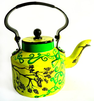 Limited Edition kettle- Tree of Life Serveware By Pyjama Party Studio