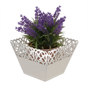 ELAN RHYTHM BOWL - SQUARE-IVORY Decorative Vase By living-with-elan