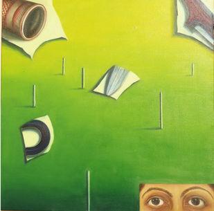 Catch And Cuts Digital Print by riddhima sharraf,Expressionism